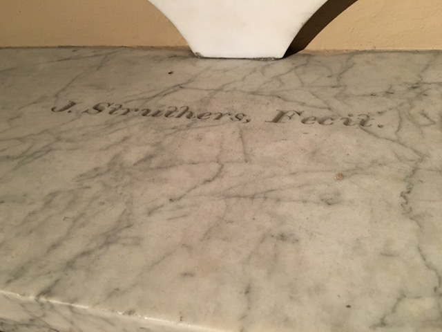 John Struthers' signature on Montgomery memorial