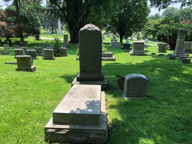 Gen view DD Wood family tomb W Laurel Hill Cemetery .jpeg