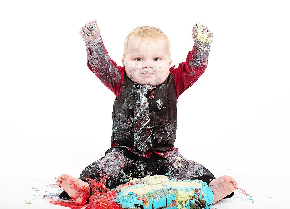 Cake Smash Saskatoon 1st year photos
