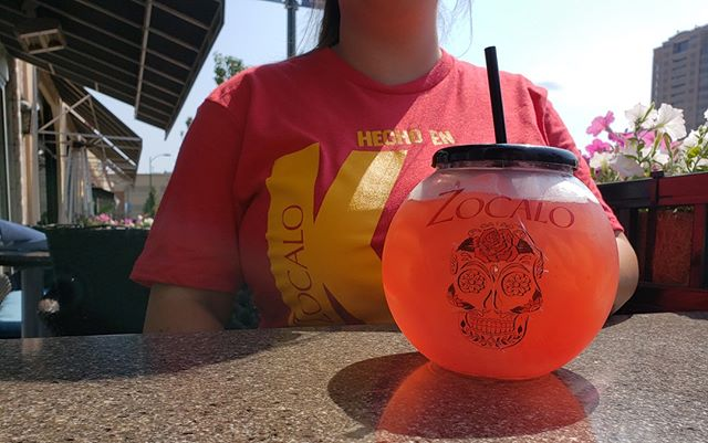 Football season is HERE and we're ready to celebrate. 🏉 Join us for $14 red infusion bowls and $12 Patron Tequila flights all #RedFriday long! PS you can buy these awesome new shirts at Zocalo for just $20!⁠ ⁠ ⁠ #GSWSCUP2019 #football #footballseason #kcfoodie #margarita #imbibe #cocktail #cocktails #drinkstagram #gameday #gametime #kcplates #tastingkc #kcmo #howwedokc #visitkc #visitkansascity