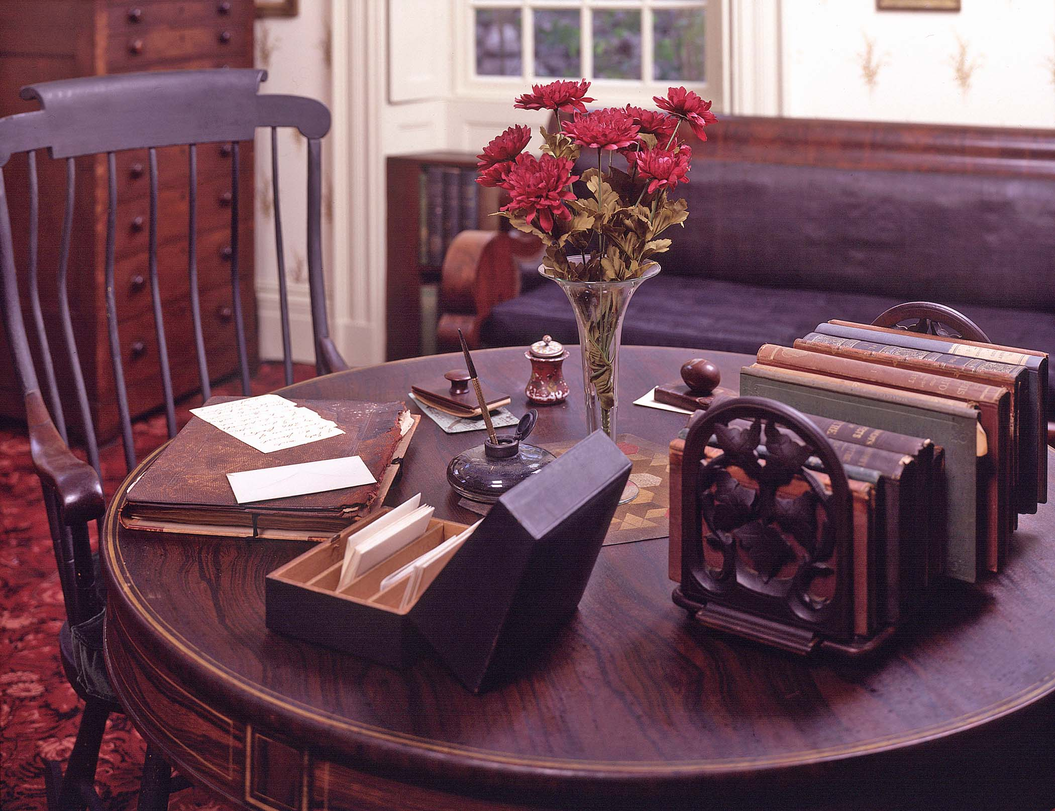 Emerson's Study, photo courtesy of the concord museum