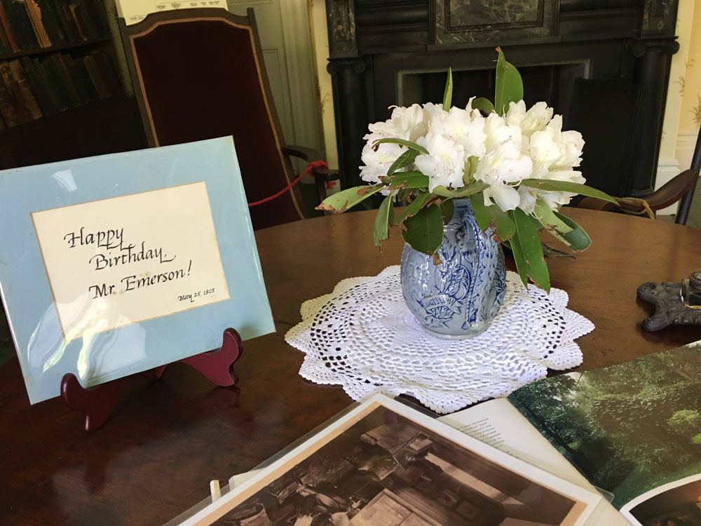 Celebrating Mr. Emerson's Birthday on May 25.