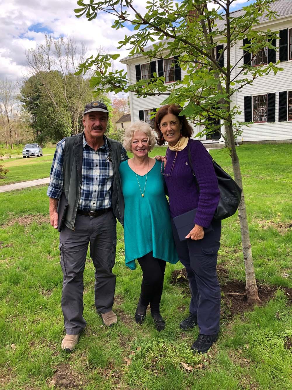Arborists Anne and Dennis Yniquiez.