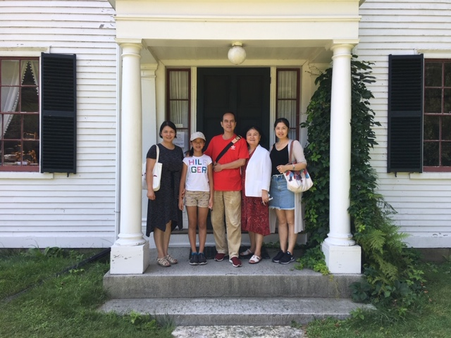 American Literature Professors from Shanghai Universities.