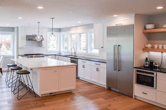 In honor of Throwback Thursday we are looking back at this beautiful kitchen transformation. Tap the photo to see project details!