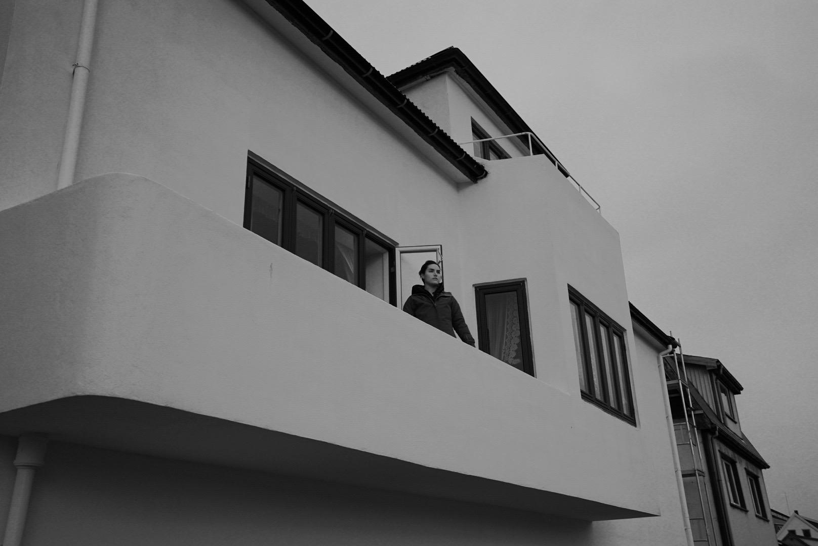 Me on the King's balcony. Faroe Islands - October 2017