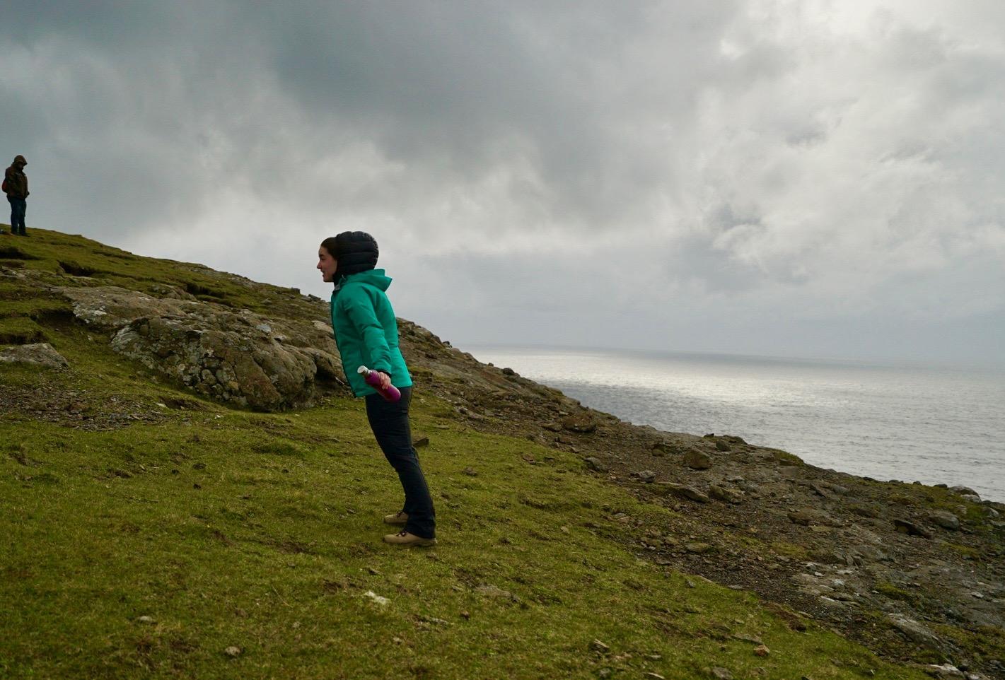 That wind! Faroe Islands - October 2017