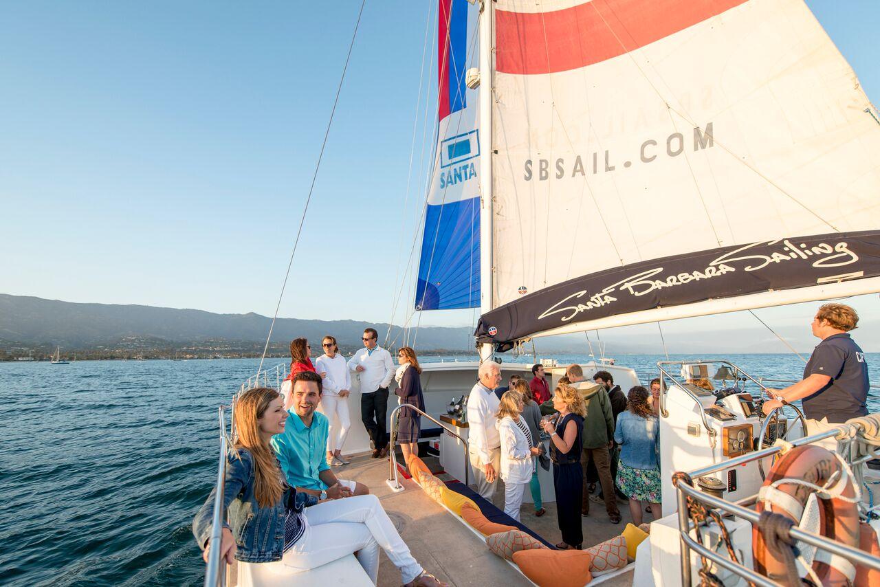 Sunset Cruise aboard the Double Dolphin Santa Barbara
