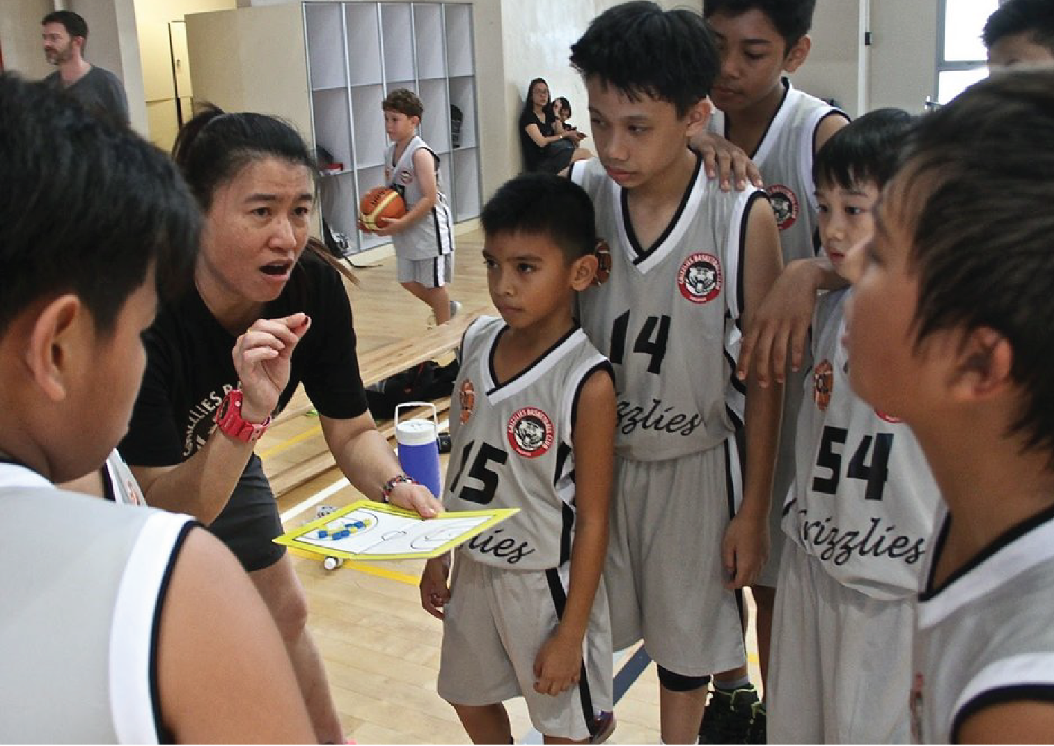 SG Basketball @ CIS Lakeside - Address: 7 Jurong West Street 41, Singapore 649414
