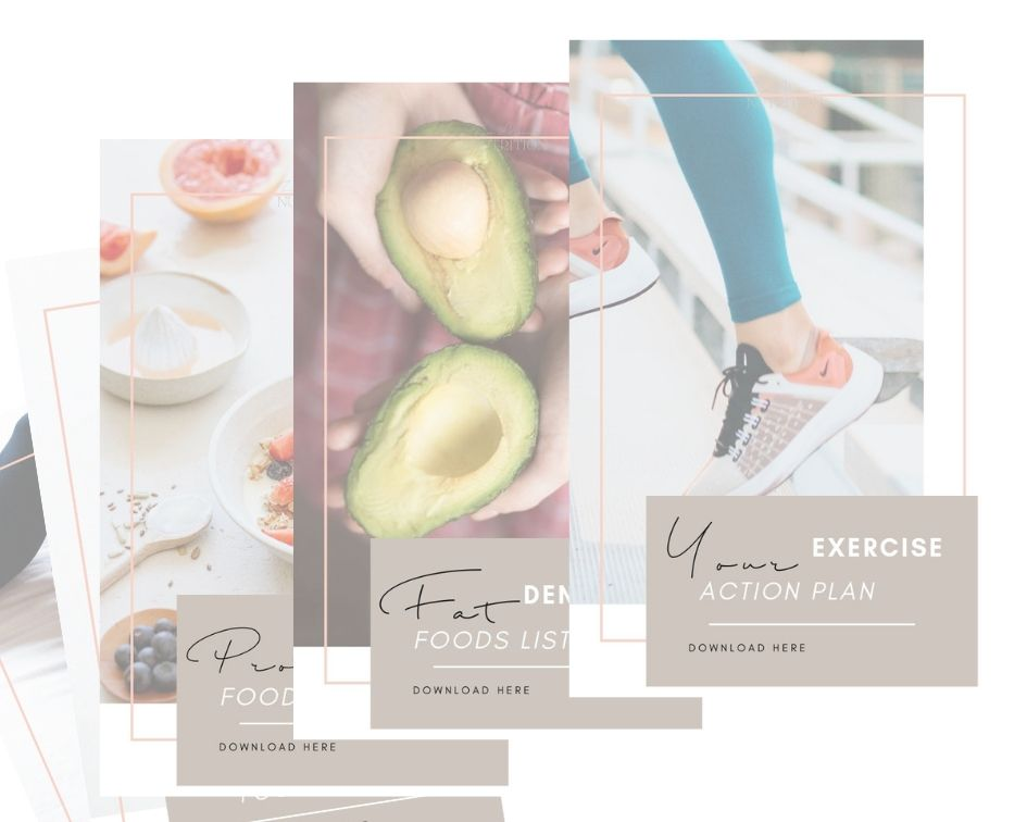 10+ Downloads + exercises. - 2 x PROGRESS TRACKERS so you can track change the way that suits you.3 x FOOD LISTS so you know what to eat + when.6 x MINDSET EXERCISES to help you get through the difficult times + take change to the next level if you're ready.