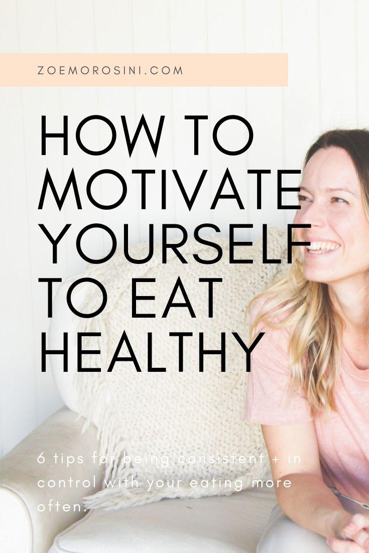 Simple Ways to eat healthy more often | Brisbane Nutritionist Zoe Morosini