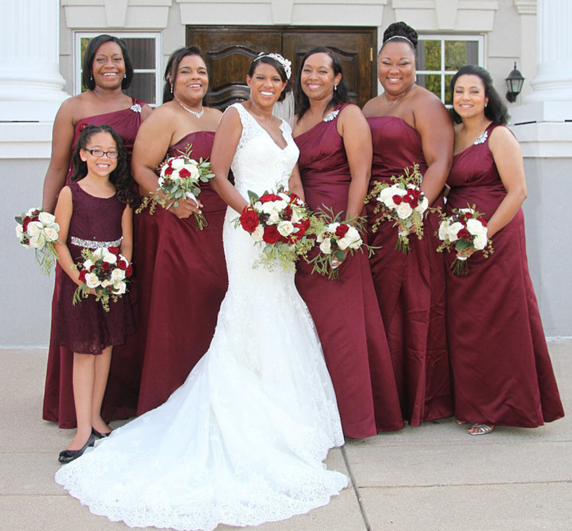 Embrace Makeup Artistry Bridal Party