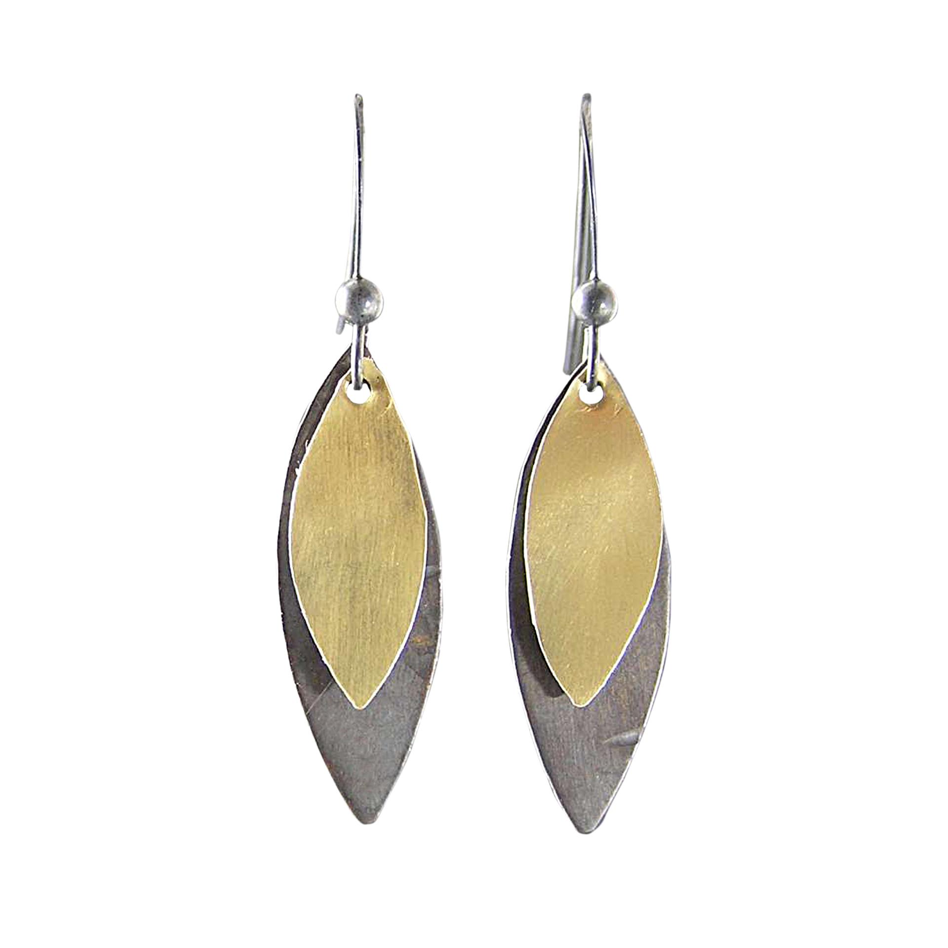 Layered Petal Earrings