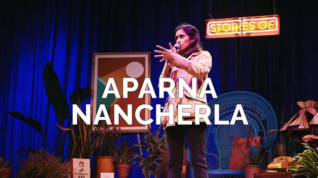 APARNA NANCHERLA - STAND UP COMEDIAN, ACTRESS, WRITER (VIDEO UNAVAILABLE AT THIS TIME)
