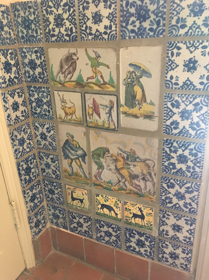 Tile from the McNay, San Antonio, TX
