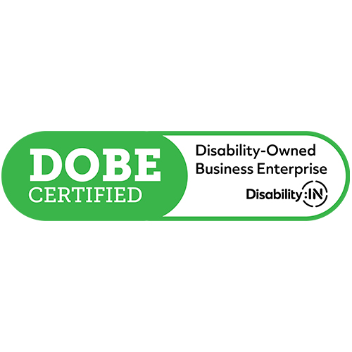 Disability-Owned Business Enterprise Certified logo