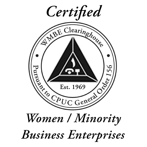 WMBE Clearinghouse Certified Women/Minority Business Enterprises logo