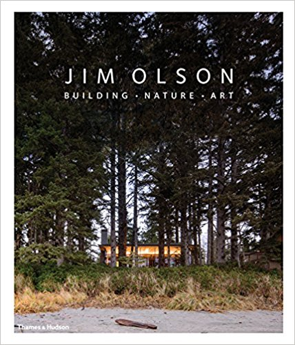 Jim Olson : Building • Nature • Art    Seattle-based architect Jim Olson blends straight, clean architectural lines and curving natural scenery with such ease that one forgets they weren't always in harmony. Over the course of a career spanning nearly fifty years, in collaboration with his partner Tom Kundig, Olson has established a reputation for thoughtfully considered buildings, evident in projects that suit and enhance their locations in Mexico, Southeast Asia, and the Pacific Northwest. This up-to-date survey of Olson's work, focusing chiefly on his buildings for art-collecting private clients and large-scale resorts, offers a stunning look—by way of plans, sketches, and photographs—at the career of a great American architect. The accompanying text includes an introduction by architecture critic Aaron Betsky as well as Olson's own reflections on the medium.   BUY HERE