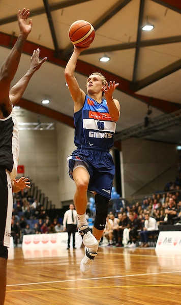 Kyle Adnam named Sals NBL Player of Games Photo Shuttersport Nelson