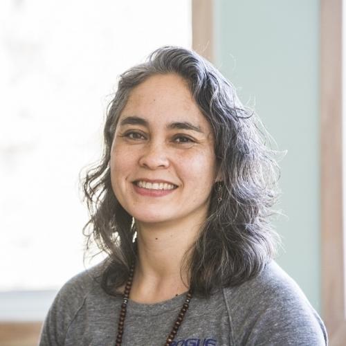 Julie Bailis, yoga teacher & owner