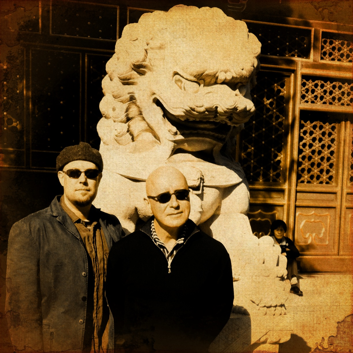 With Brian O'Reilly, Beijing Central Conservatory, 2012