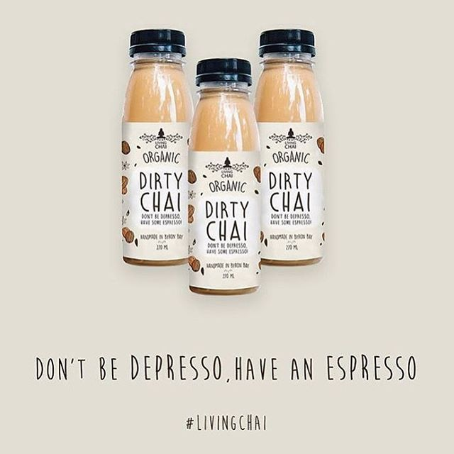 Got the Monday blues? . . . #chai #dessert #dairyfree #home #space #rain #spring #turmeric #paleo #vegan #veganfoodshare #vegandrink #govegan #organic #byronbay #byronbaybusiness #design #perfect #goals #homeinspo #meditate #chill #relax #peace #dirtychai #coffee