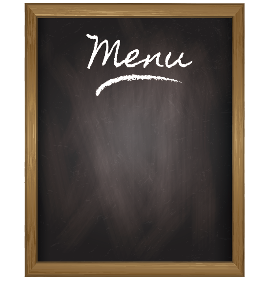 Create custom menu tailored to your taste, vision and budget. -