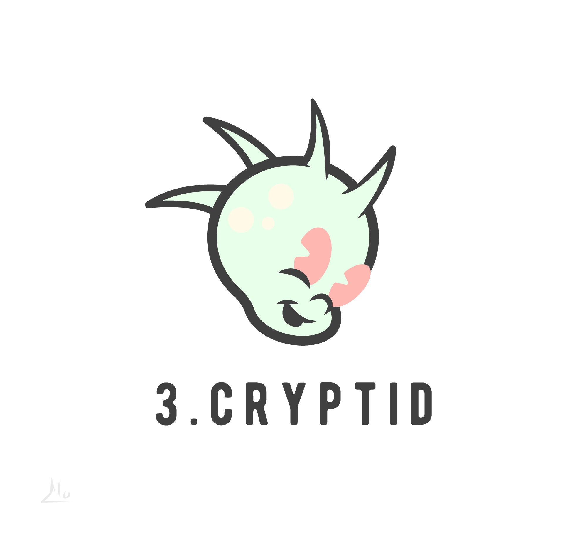 @elomakesthings :  Day 3 - Cryptid(Chupacabra)