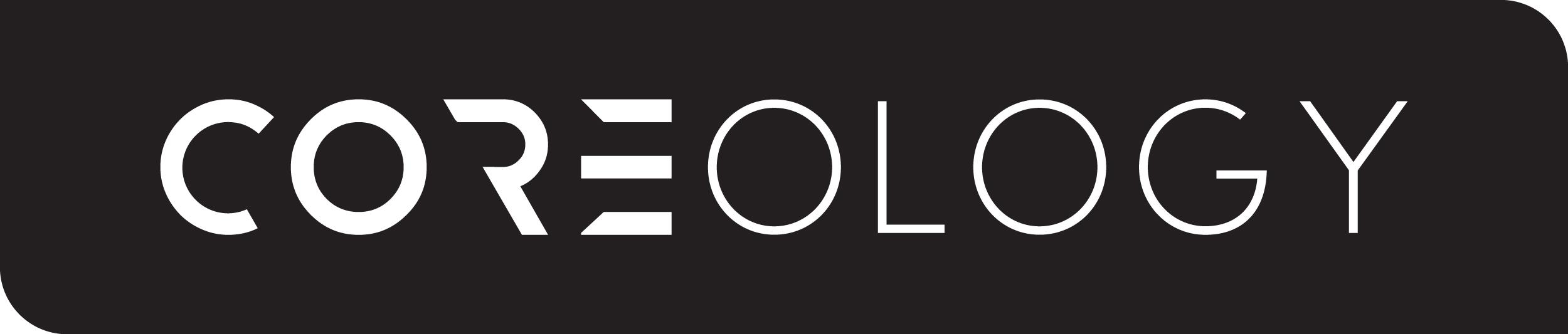 Horizontal, negative variation of the new logo.