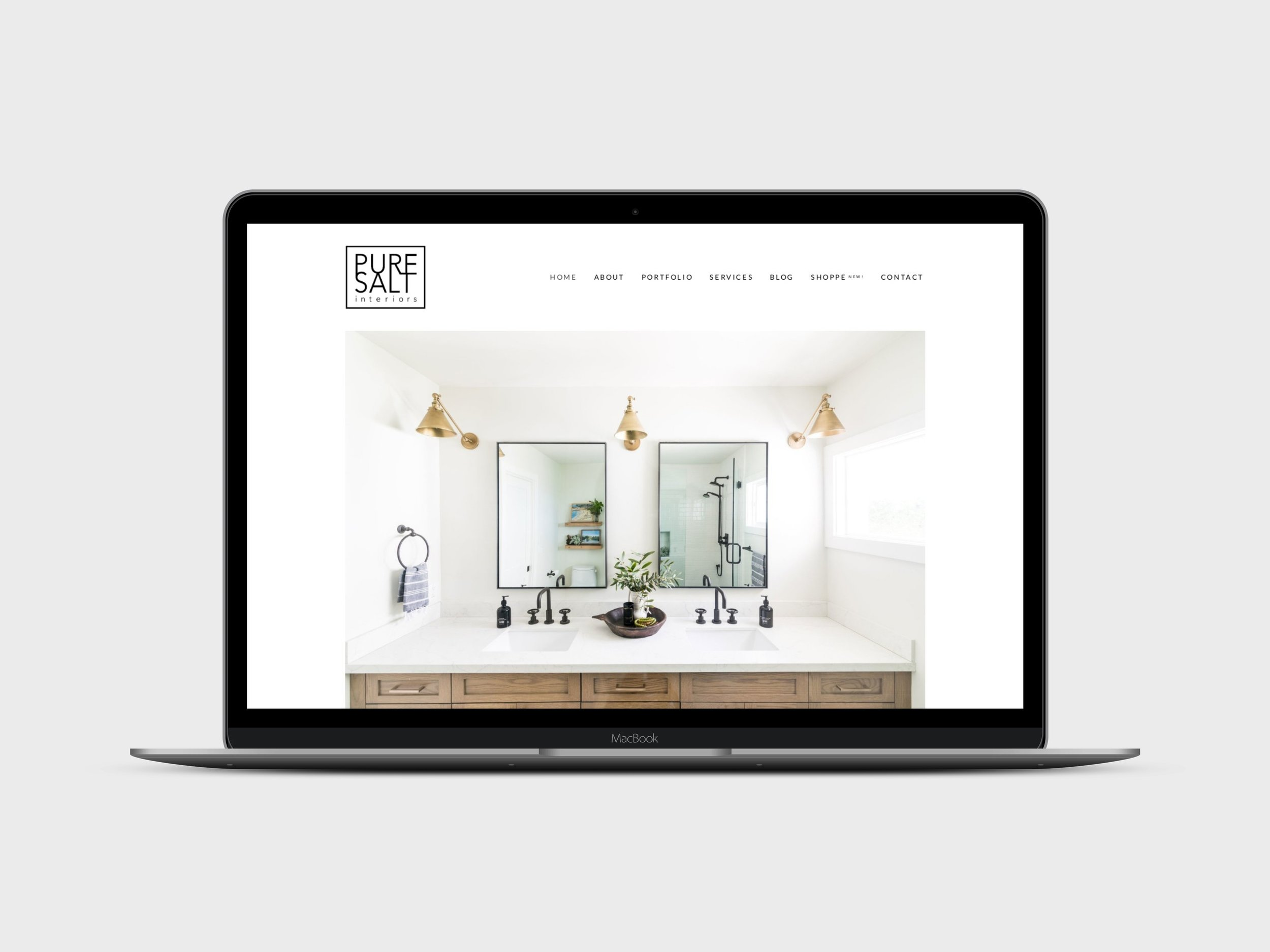 Pure Salt Interiors - Pure Salt Interiors is a full-service interior design agency located in Laguna Beach, CA. We designed a website and e-commerce store for their popular and growing line of products.