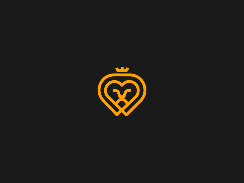 Heart shape, simple