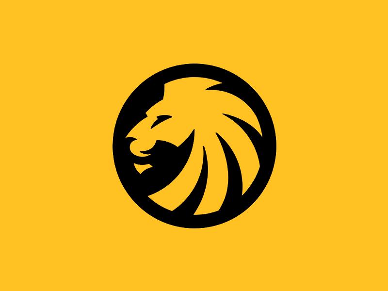Flat, negative space, emblem