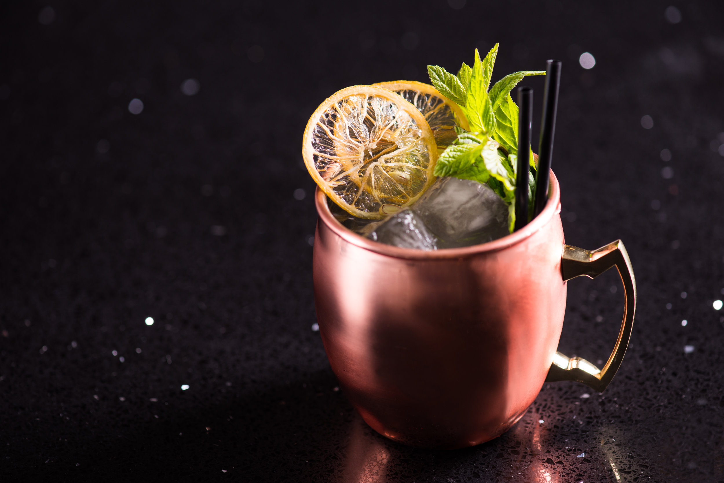 East Asian Mule, for  W Hotel, Jordan .  Photo: J. Adgeappa, Drink: U.Nijs.