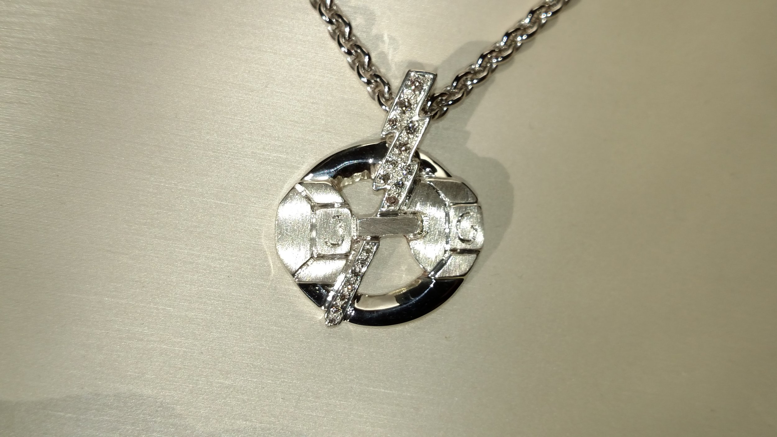Strength In Silver - Grace will work closely with you on the details of your design...