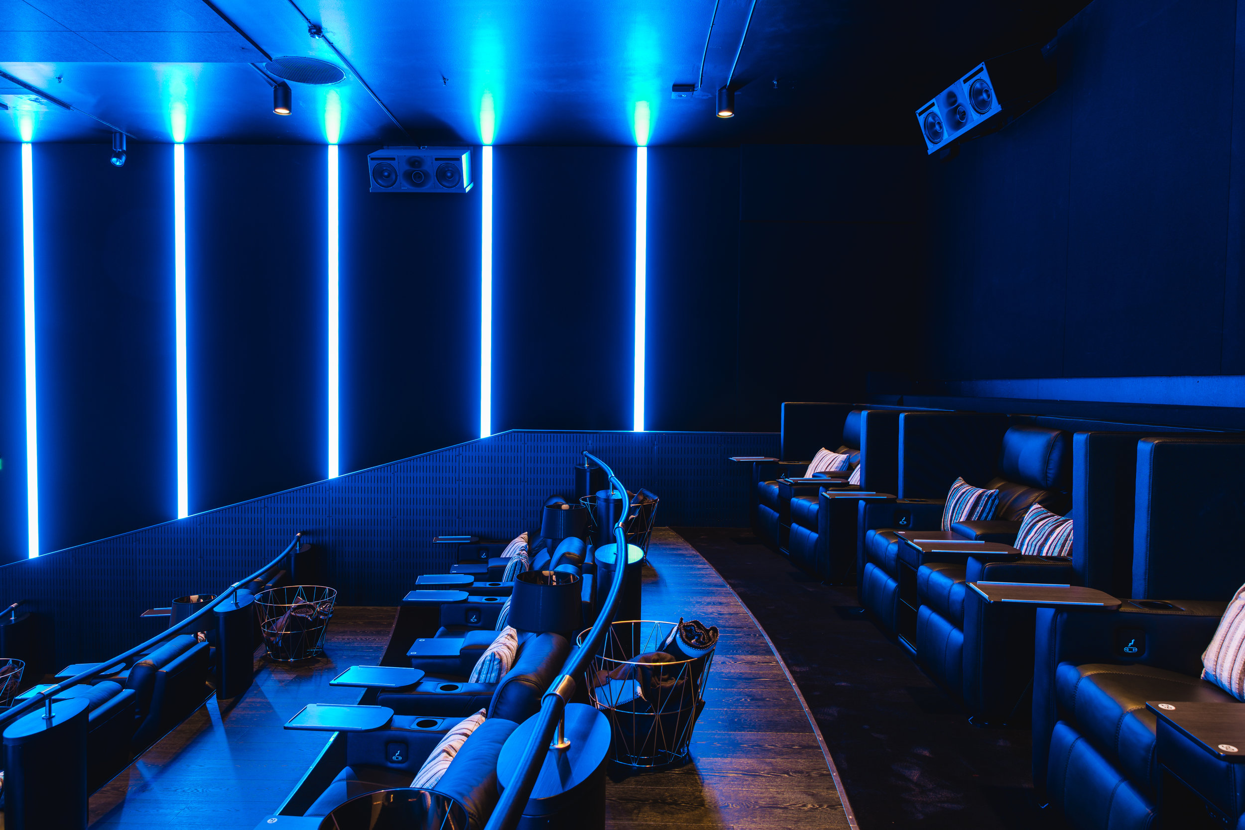 Finnkino Omena Lounge   Asiakas: Genelec