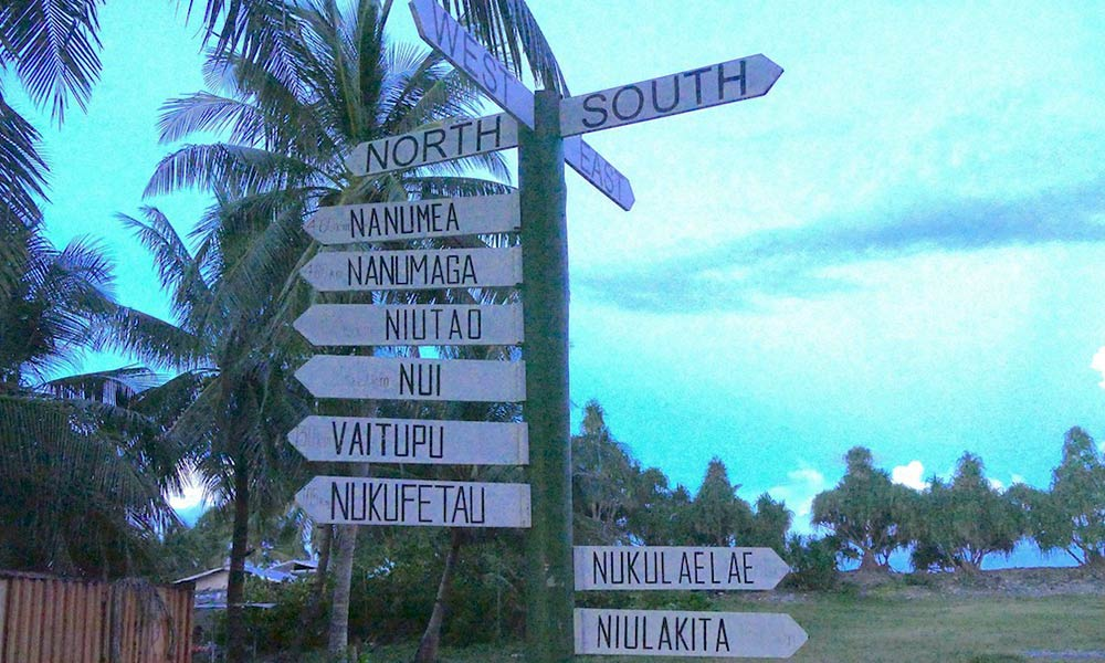 Tuvalu is comprised of three reef islands and six atolls. Photo: Silke von Brockhausen/UNDP