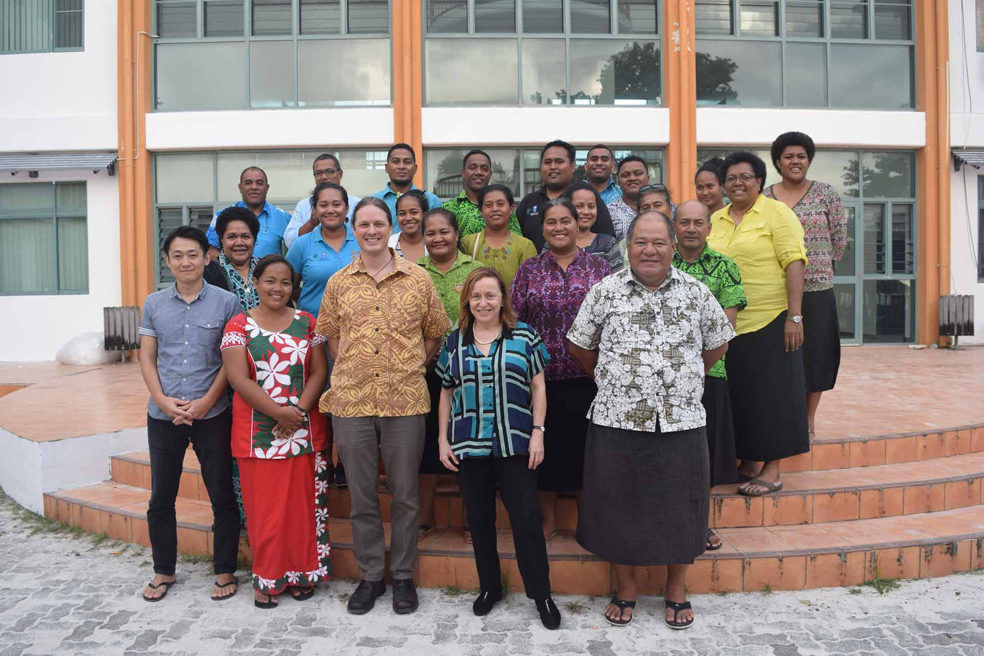 Group photo at the launch of the TCAP project, 29 August 2017. Photo by UNDP