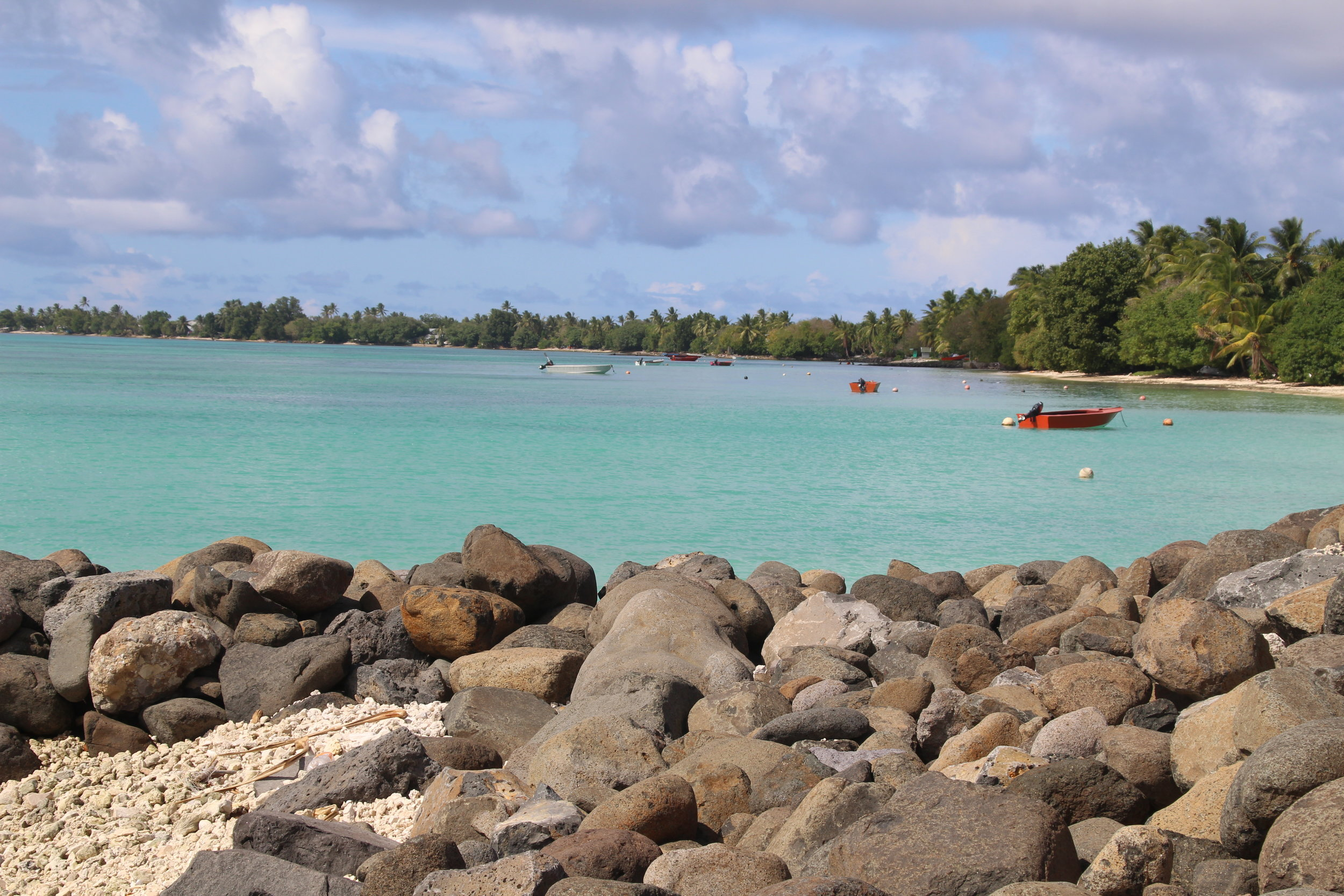 The foreshore at Fogafale in Funafuti, Tuvalu (Photo: UNDP/Jone Feresi)