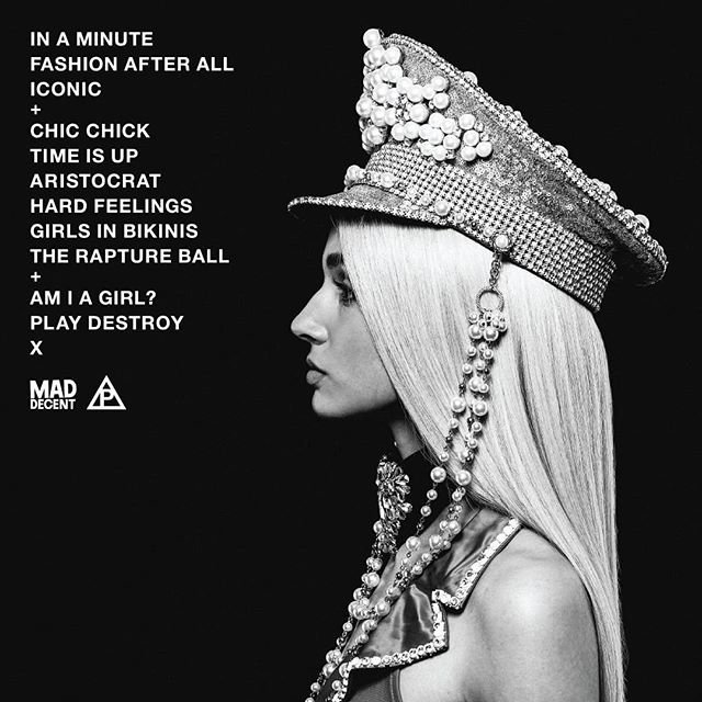 track listing for am i a girl?