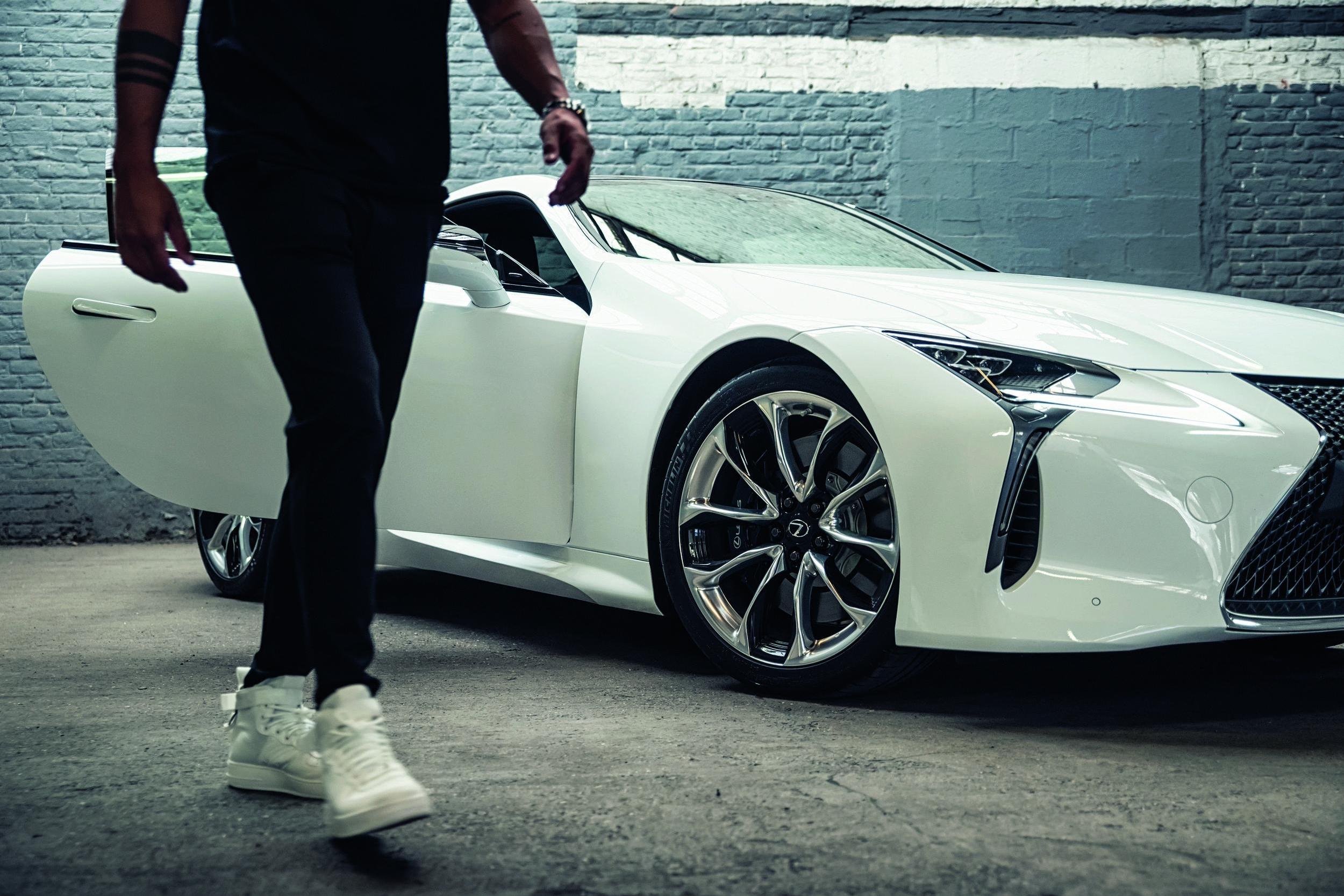 Regi Blinker & John Heitinga for Lexus LC500 By The Hattrick creative agency