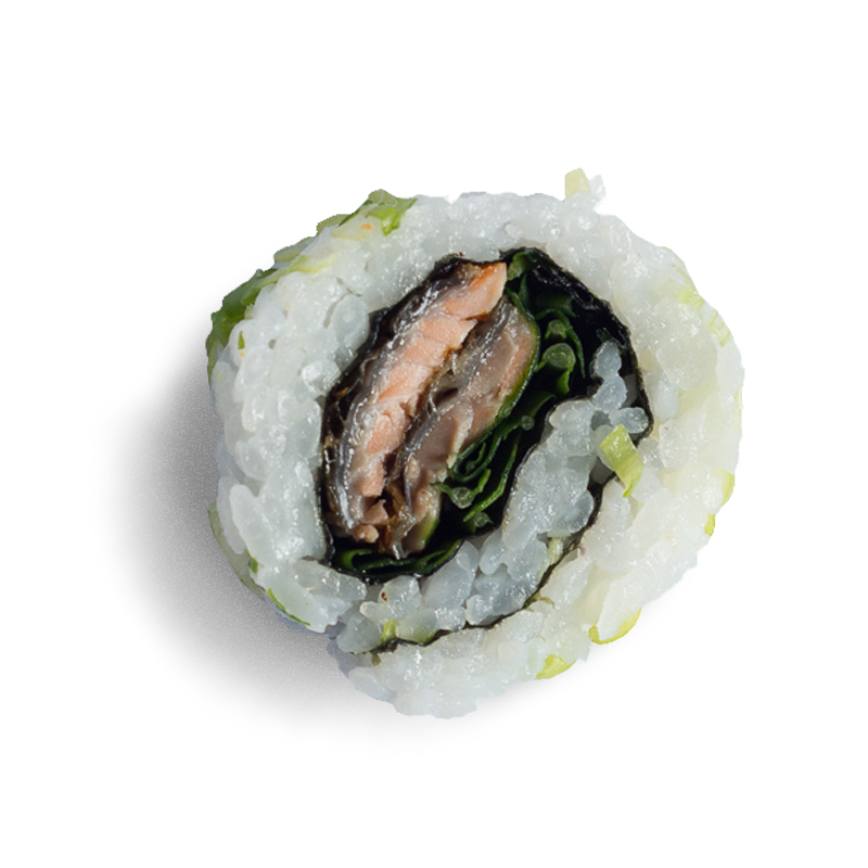 Crispy salmon skin roll
