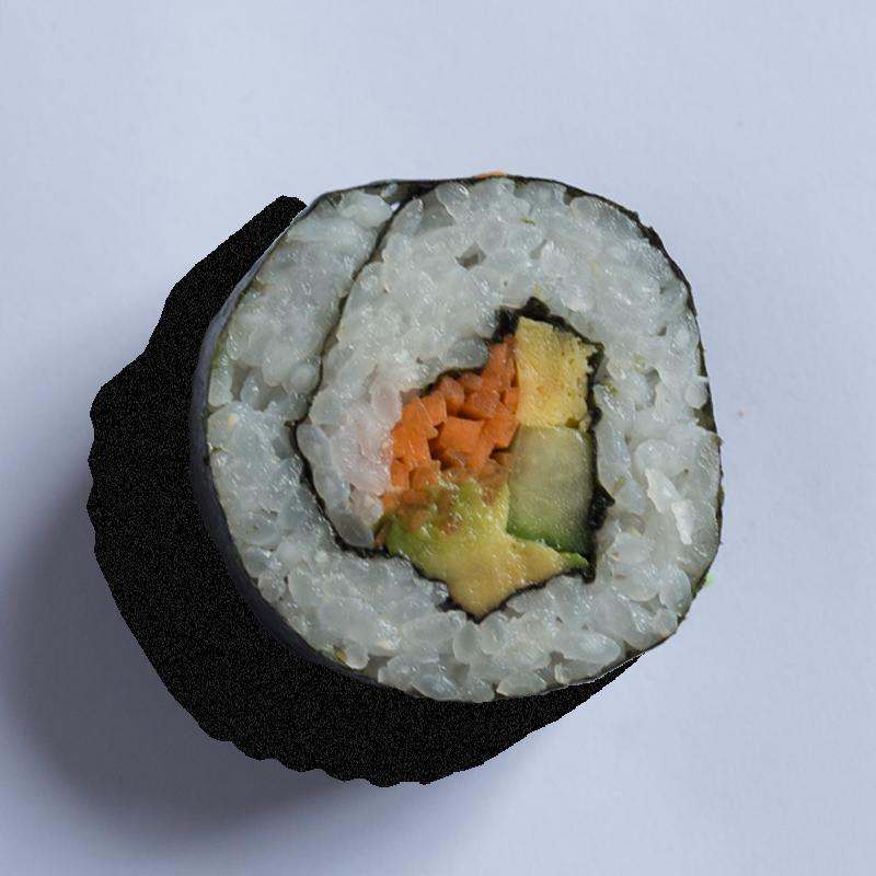 Vegetable futomaki