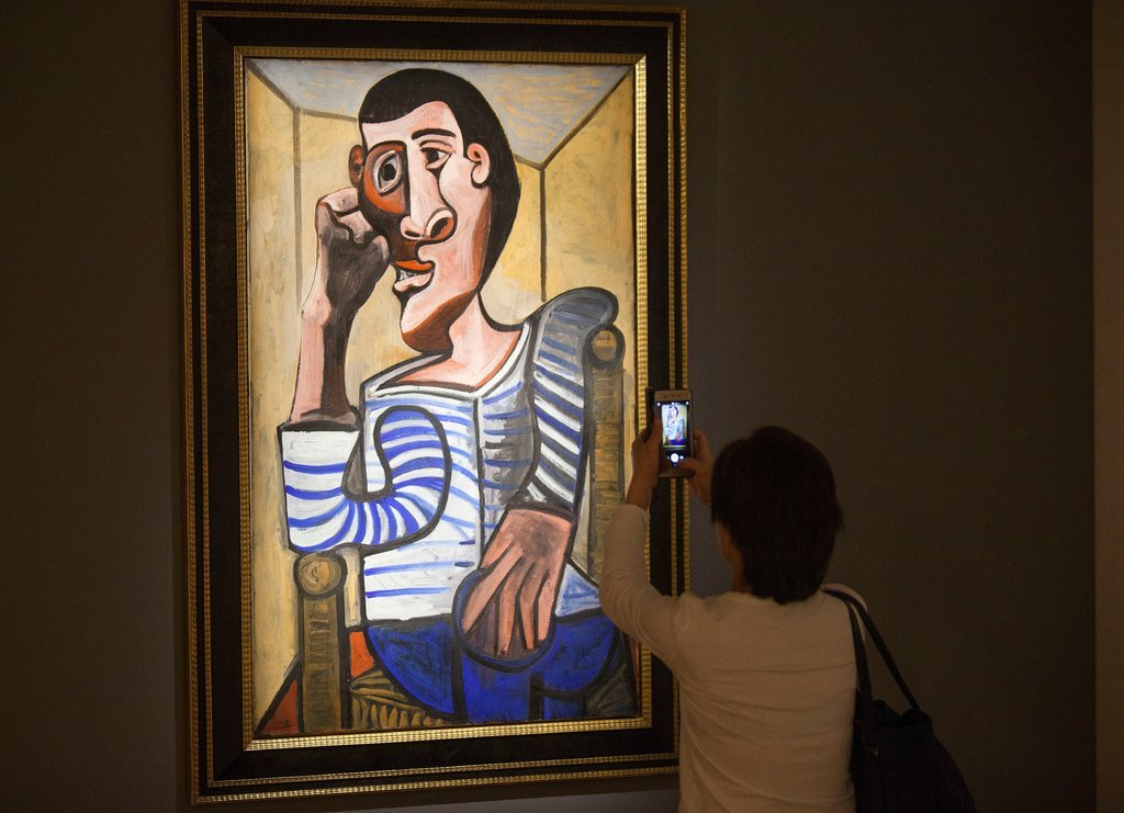 """Picasso""""Le Marin (The Sailor)"""" (1943)   In May 2018, this painting was removed from a scheduled auction at Christie's after it was  """"accidentally damaged""""  at the presale exhibition.  """"After consultation with the consignor today, the painting has been withdrawn from Christie's May 15 sale to allow the restoration process to begin,"""" the auction house said. """"We have taken immediate measures to remedy the matter in partnership with our client. No further information is available at this time.""""   While both the nature of the damage and the identity of the client were not revealed, sources identify the unnamed client as casino mogul Steve Wynn.  This would not be Wynn's first experience with a damaged Picasso: In 2006, Wynn, who suffers from a degenerative eye disease,  accidentally put his elbow through the canvas of Picasso's""""La Reve"""" (1932) , which he owned at the time. That canvas was eventually restored and sold.  UPDATE:  Sources say the canvas was accidentally punctured during preparations by a paint roller attached to an extension pole, which fell over and struck the painting."""