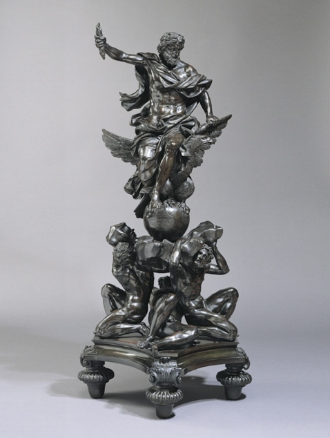 """Alessandro Algardi """"Jupiter victorious over the Titans: Fire"""" / human body   (A museum visitor had an epileptic fit and crashed into this 17th-century sculpture while it was on view at London's Wallace Collection. Damages were apparently minimal.)"""