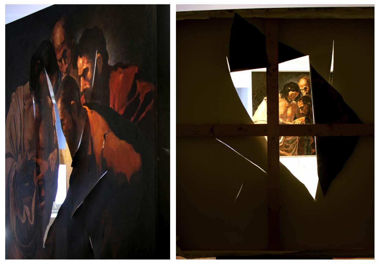 "Eyob Mergia ""After Caravaggio"" / knife"