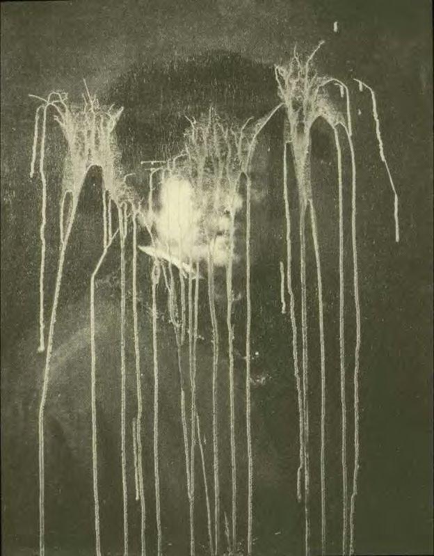 Rembrandt self-portrait / sulfuric acid