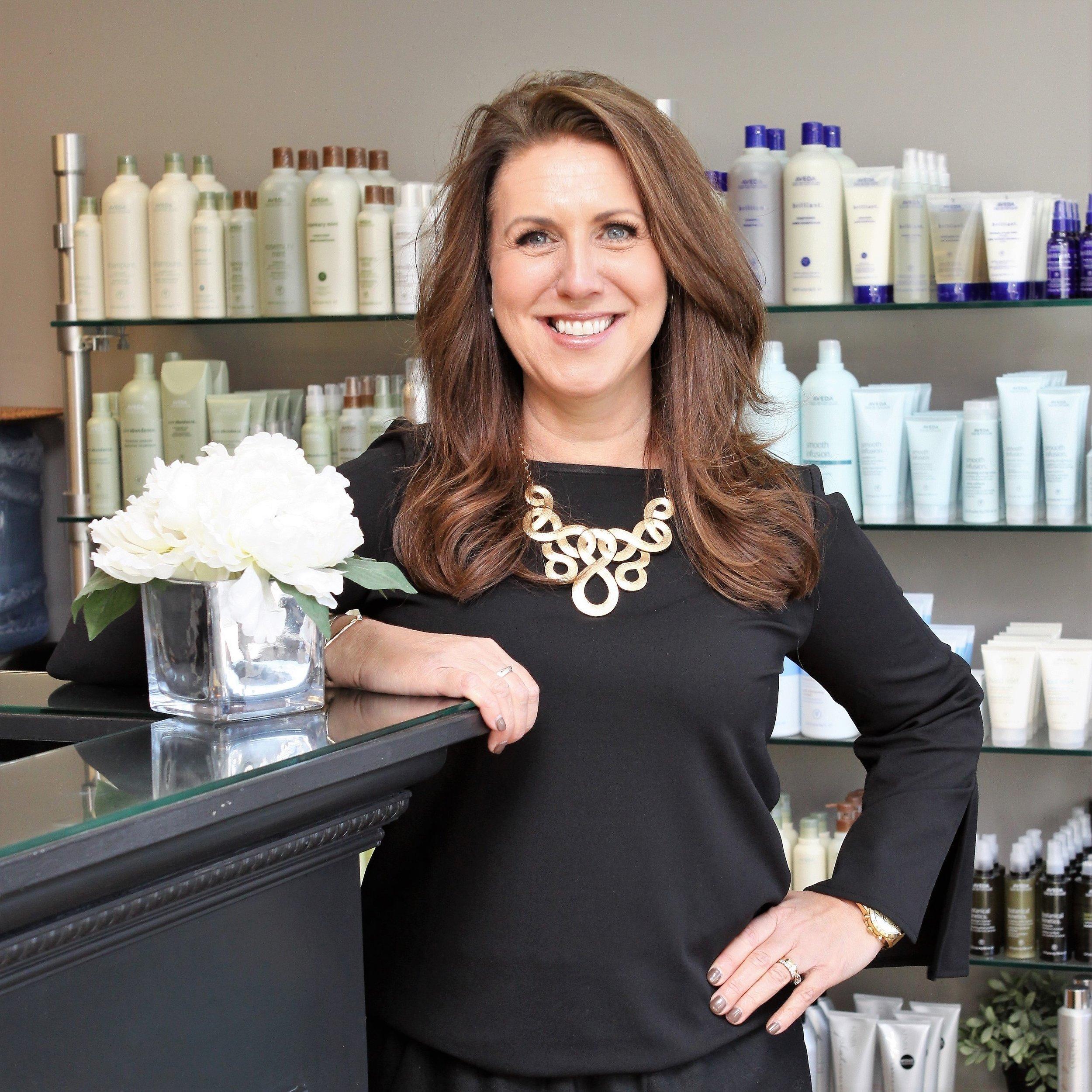 Lisa Berry Owner of Simplicity Hair Studio .JPG
