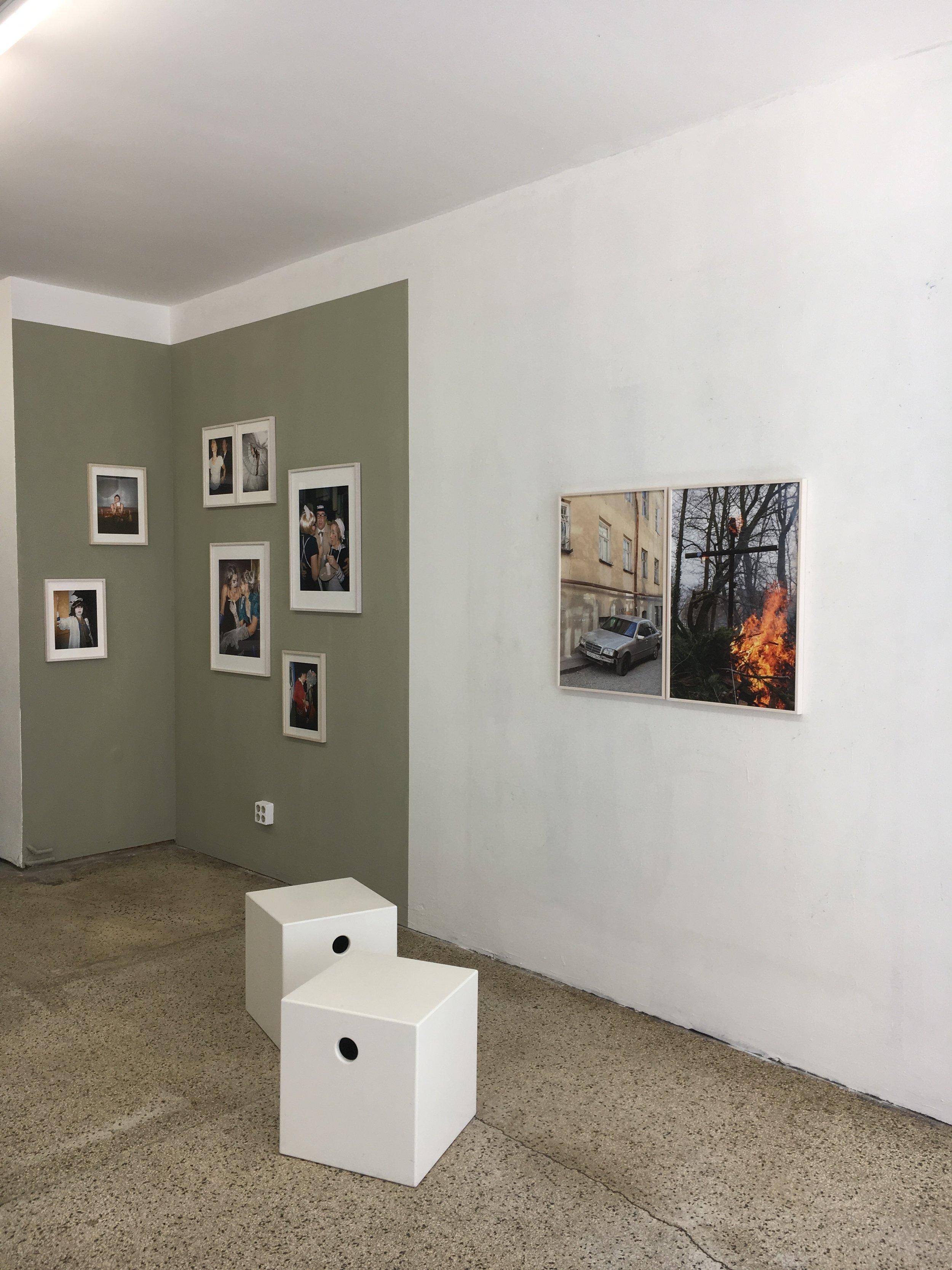 Ute Behrend, Fassade und Tarnung, Scope Galerie 2018