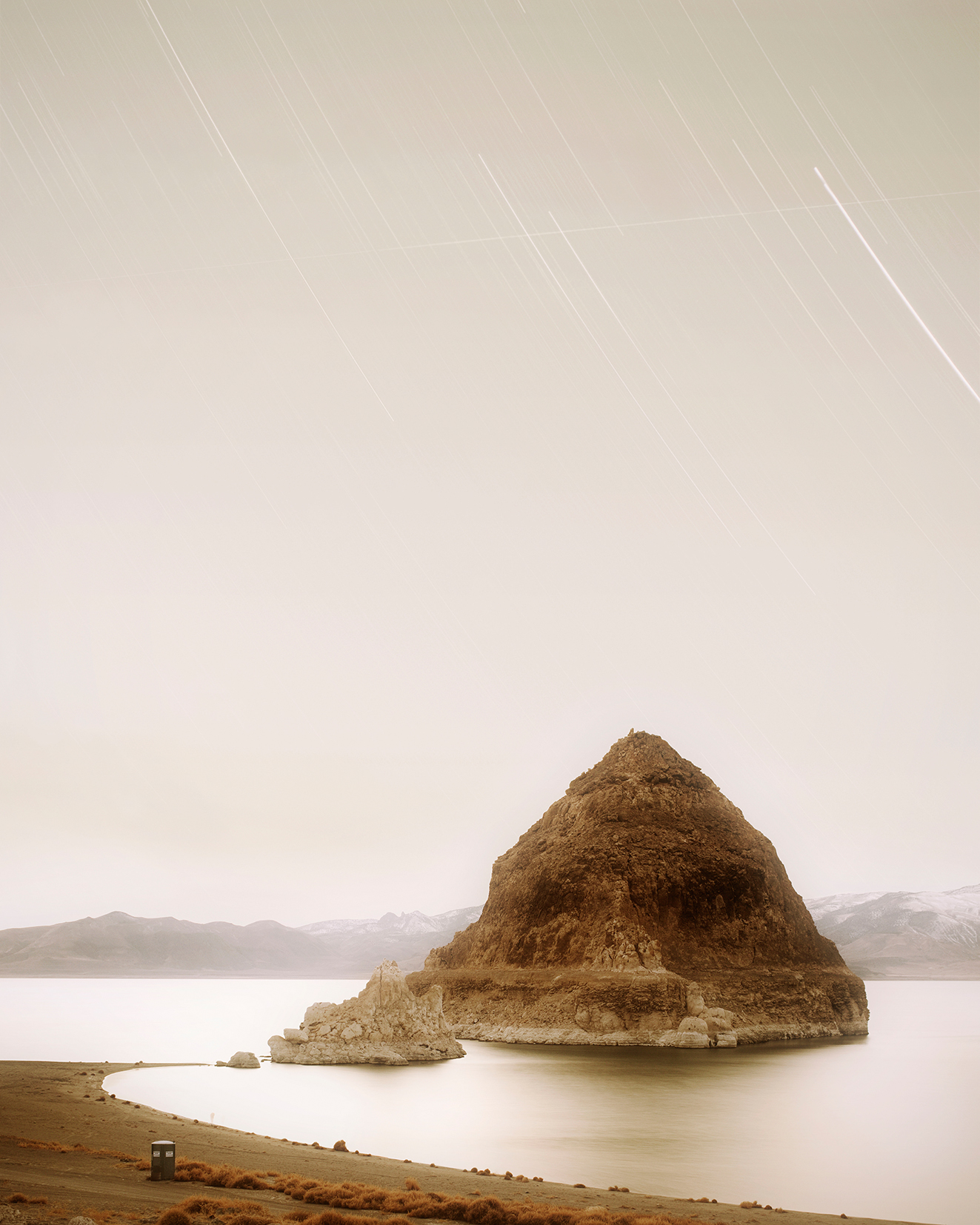 "© Trevor Paglen, ""DMSP 5B/F4 from Pyramid Lake Indian Reservation Military Meteorological Satellite; 1973-054A"", 2009"