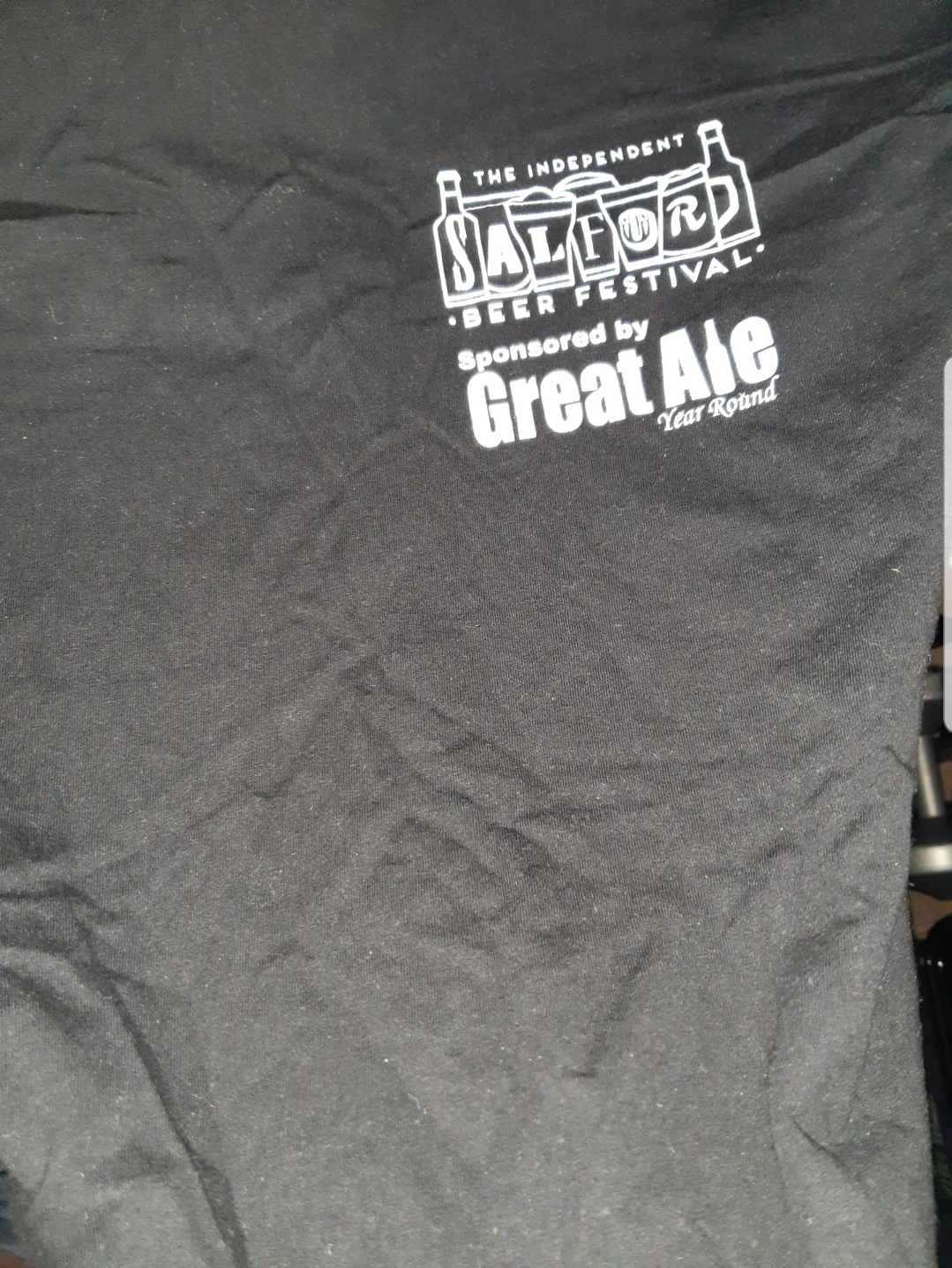 Oh. My. Days. An original ISBF1 t-shirt! A rarity!!!